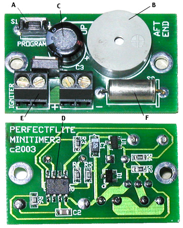 miniTimer2 digital staging/airstart/ejection timer