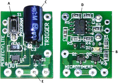 microTimer3 digital staging/airstart/ejection timer