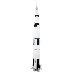 2010 EDITION SATURN V SCALE MODEL ROCKET KIT