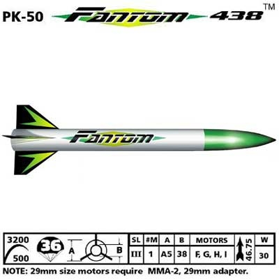 FANTOM438 ROCKET KIT