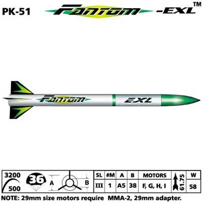 FANTOM EXL ROCKET KIT
