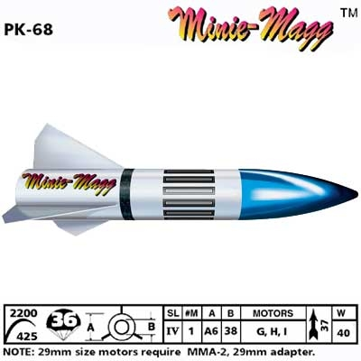 MINIE MAGG ROCKET KIT