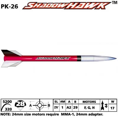 SHADOWHAWK Rocket