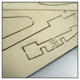 Laser cut bass and balsa wood for the hobby industry
