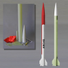 Mad Cow ARCAS HV Scale Rocket Kit With 38mm Mount