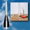 Mad Cow Hawk MIM 23 A Scale Rocket Kit