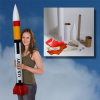 Mad Cow Patriot Scale Rocket Kit With 38mm or 54mm Mount