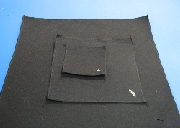4 INCH SQUARE NOMEX PARACHUTE PAD