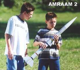 AMRAAM 2 SCALE MODEL ROCKET KIT