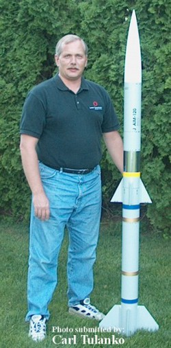 AMRAAM 4 scale model rocket kits.