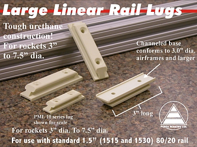 PML Large Linear Rail Lugs
