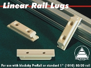 PML LRL-15-2 Large Linear Launch Rail Lugs (2 lugs/pkg)