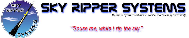 Sky Ripper HYBRID rocket motors are sold at Commonwealt Displays along with 1400 other rocketry products.