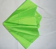 TOP FLIGHT 12 INCH THIN MIL PARACHUTE